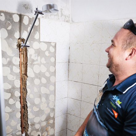 Leaking Shower Kenmore