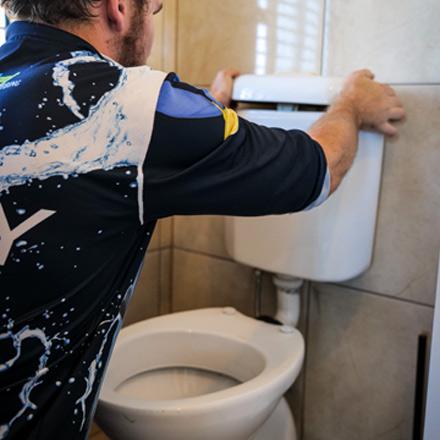 Toilet Plumbing Kenmore